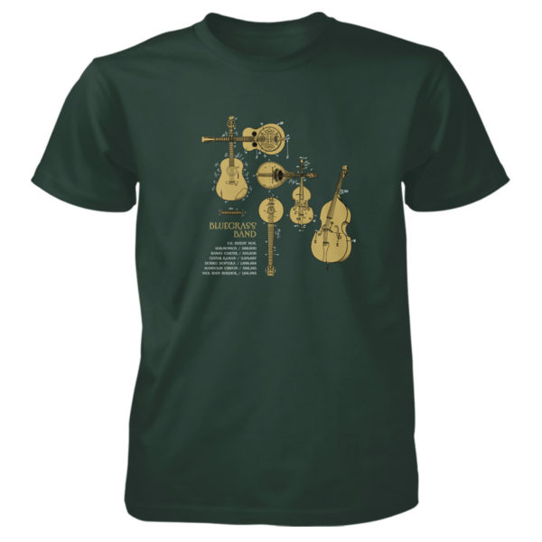 Bluegrass Band T-Shirt FOREST