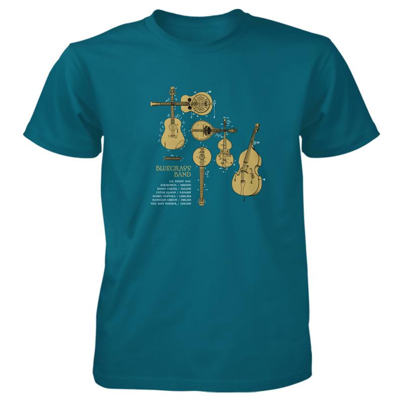 Bluegrass Band T-Shirt GALAPAGOS BLUE