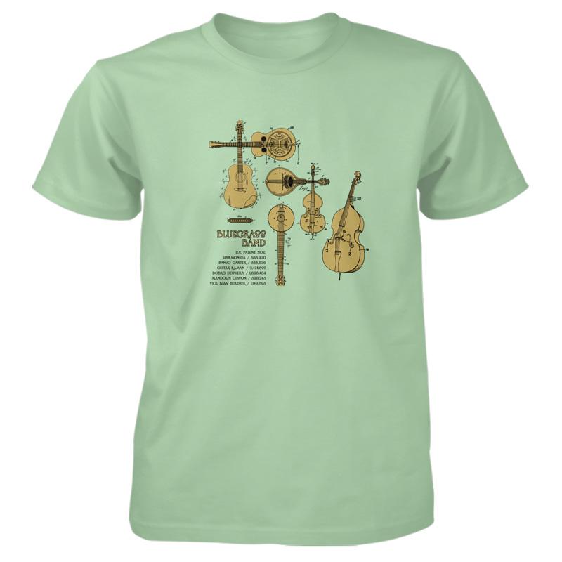 Bluegrass Band T-Shirt MINT GREEN