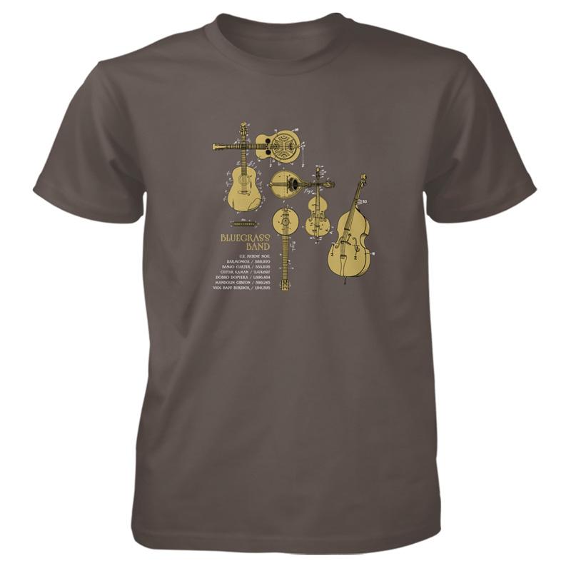 Bluegrass Band T-Shirt OLIVE
