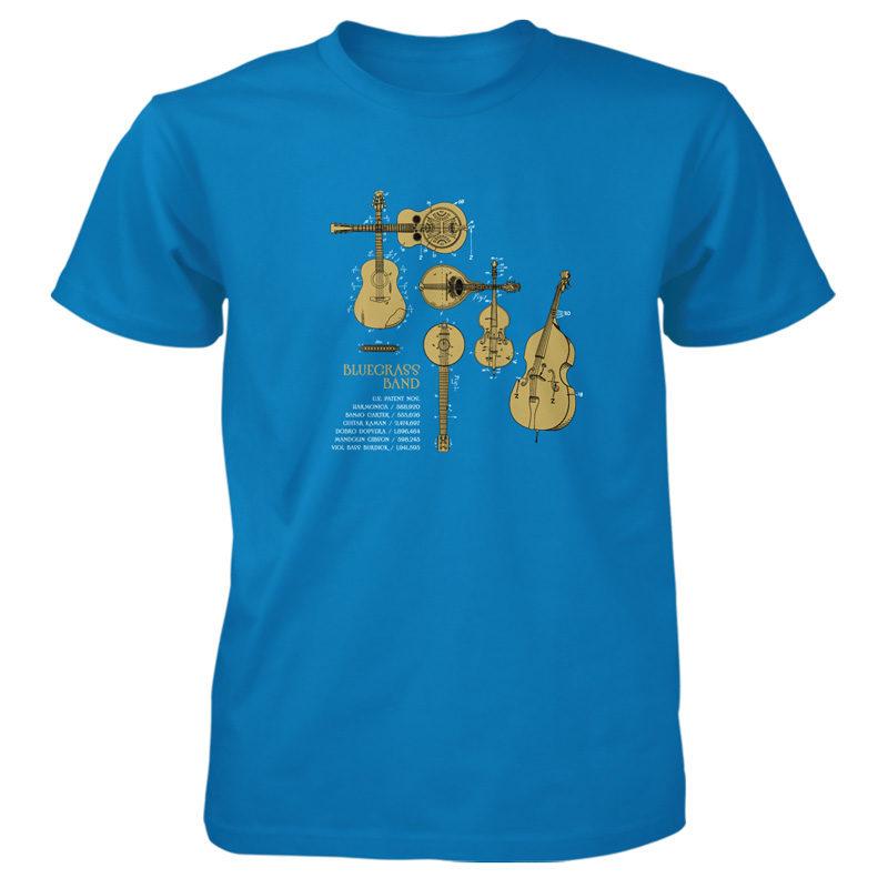 Bluegrass Band T-Shirt SAPPHIRE