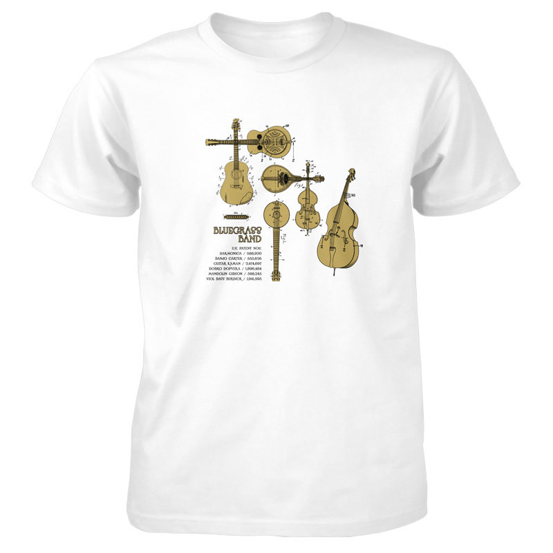 Bluegrass Band T-Shirt WHITE