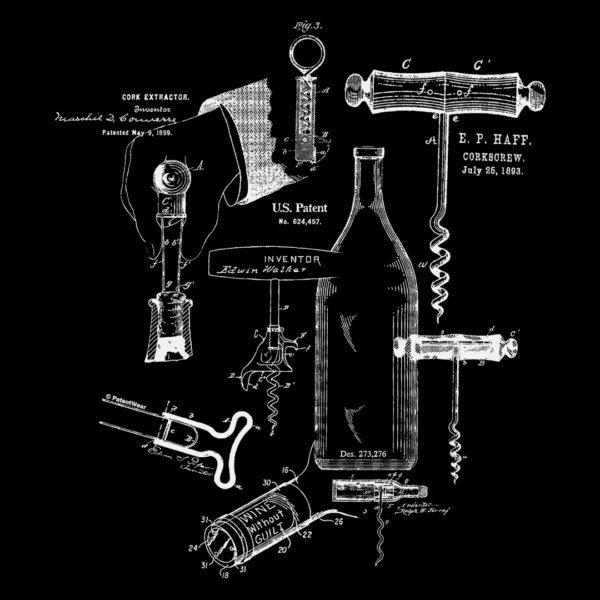 Corkscrew MS Lineart Design on Darks