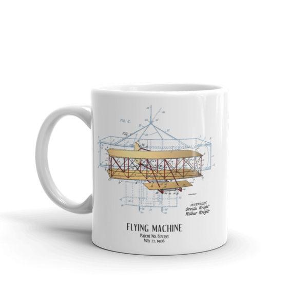 Flying Machine Mug 11oz