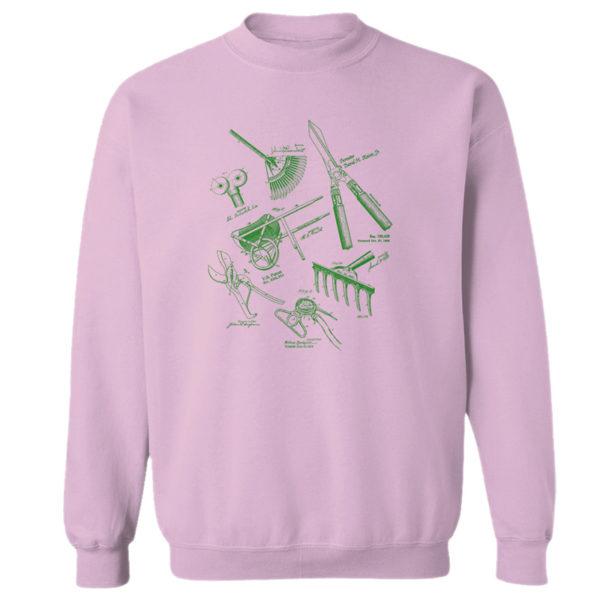 Garden Tools MS Lineart Crewneck Sweatshirt PINK
