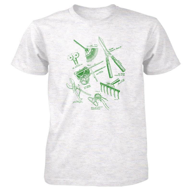 Garden Tools MS Lineart T-Shirt ASH