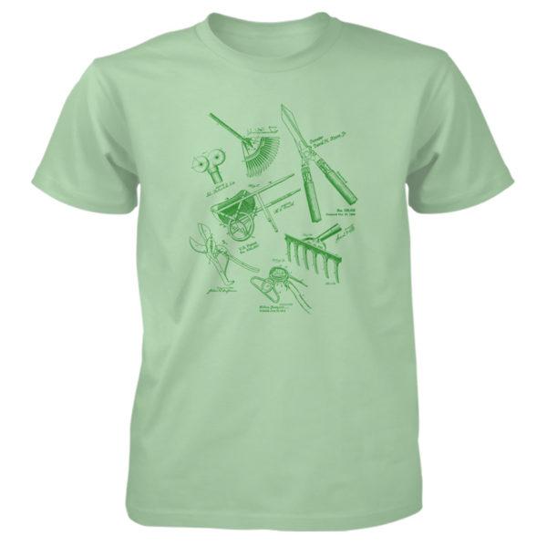 Garden Tools MS Lineart T-Shirt MINT GREEN