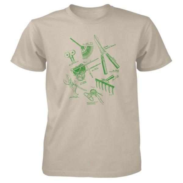 Garden Tools MS Lineart T-Shirt SAND
