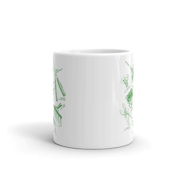 Garden Tools MS-Lineart 11oz Mug FRONT