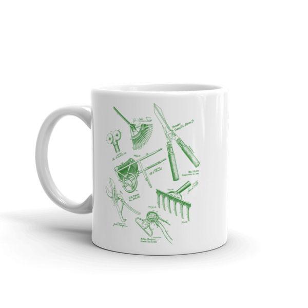 Garden Tools MS-Lineart 11oz Mug