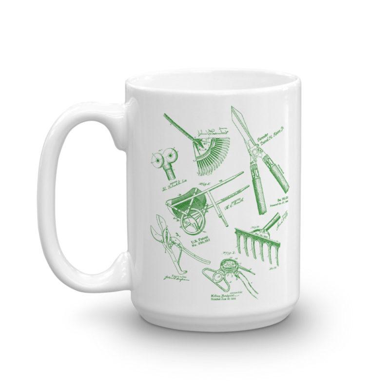 Garden Tools MS-Lineart 15oz Mug