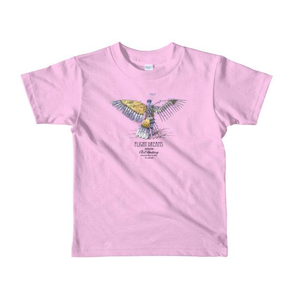 Flight Dreams Youth T-Shirt 2-6 yrs PINK