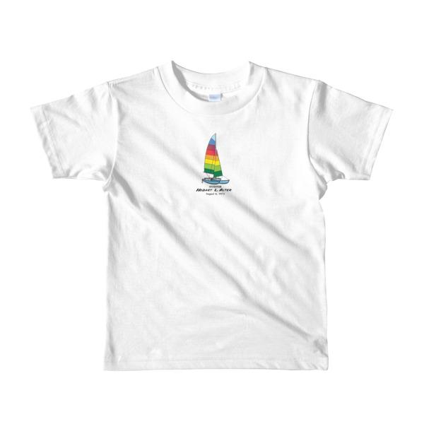 Hobie Cat Youth T-Shirt 2-6 yrs WHITE