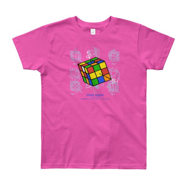 Magic Cube Youth T-Shirt 8-12 yrs FUSCHIA