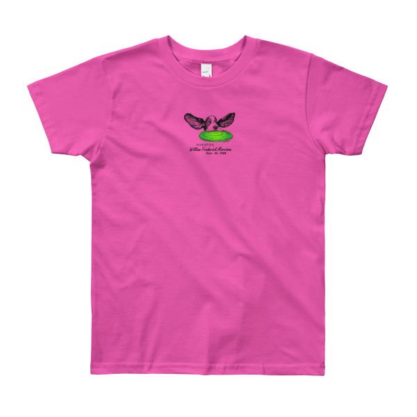 Flying Disc Youth T-Shirt 8-12 yrs FUSCHIA