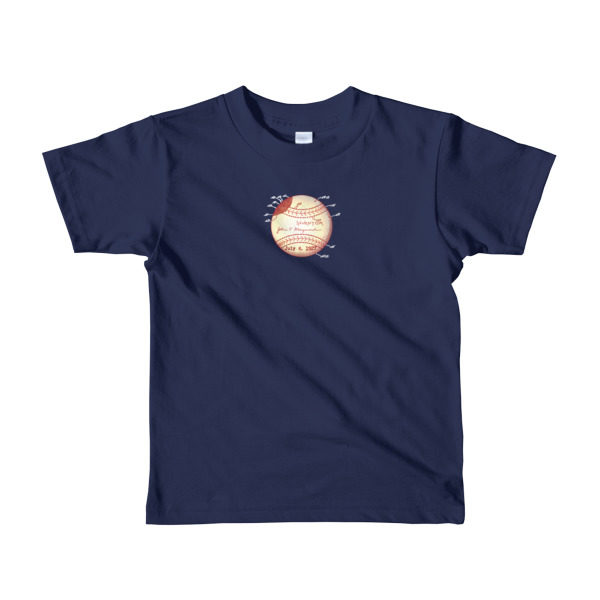Baseball Youth 2-6 T-Shirt NAVY