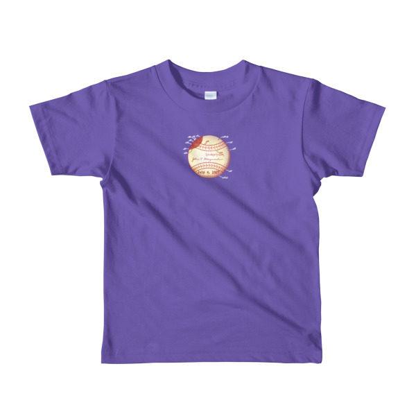 Baseball Youth 2-6 T-Shirt PURPLE