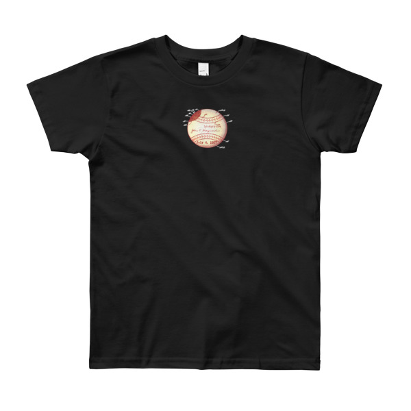 Baseball Youth T-Shirt (8-12 yrs) BLACK