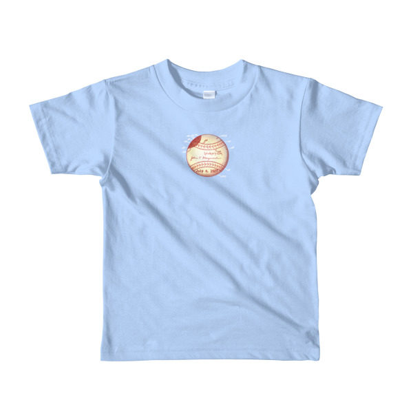 Baseball Youth 2-6 T-Shirt BABY BLUE