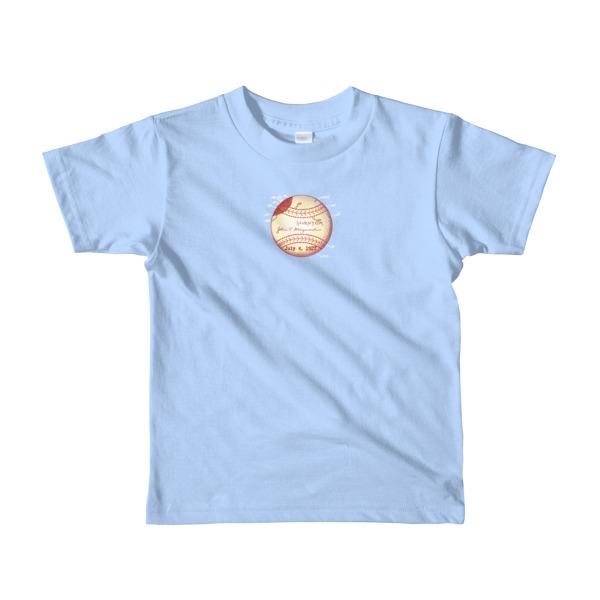 Baseball Youth 2-6 T-Shirt BABY BLUE