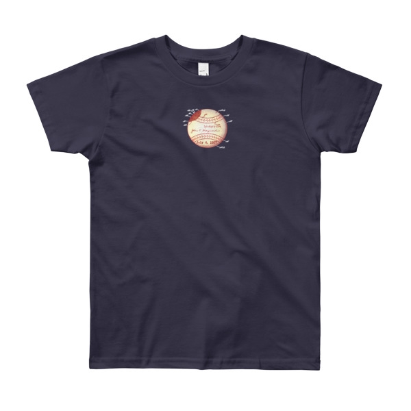 Baseball Youth T-Shirt (8-12 yrs) NAVY