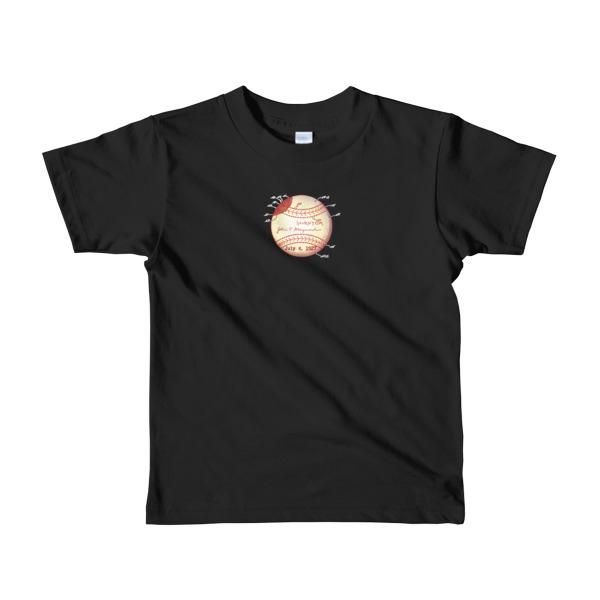 Baseball Youth 2-6 T-Shirt BLACK