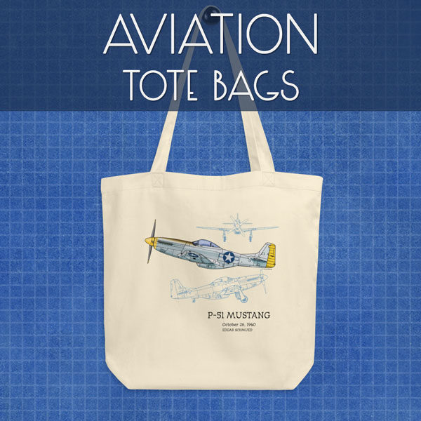 Aviation | Tote Bags