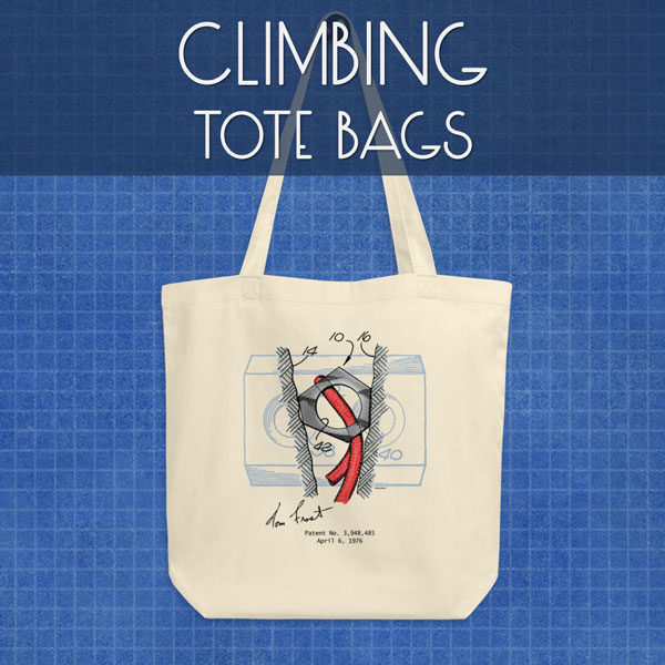 Climbing | Tote Bags
