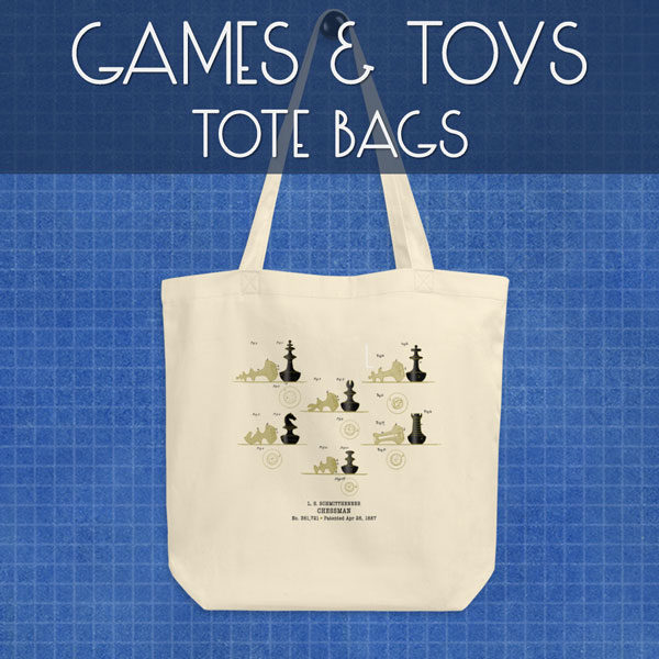 Games & Toys | Tote Bags