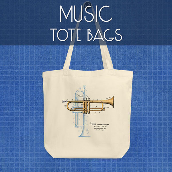 Music | Tote Bags