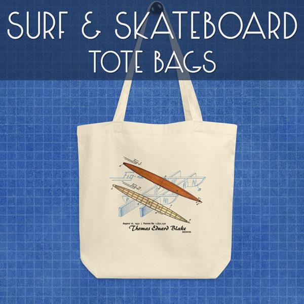 Surf & Skateboard | Tote Bags