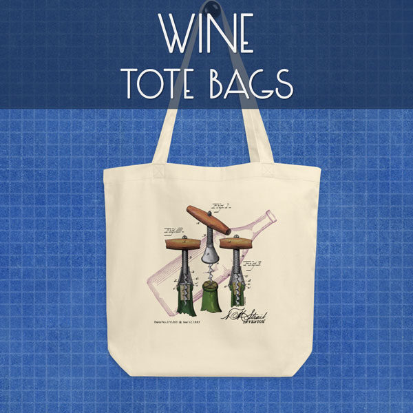 Wine | Tote Bags