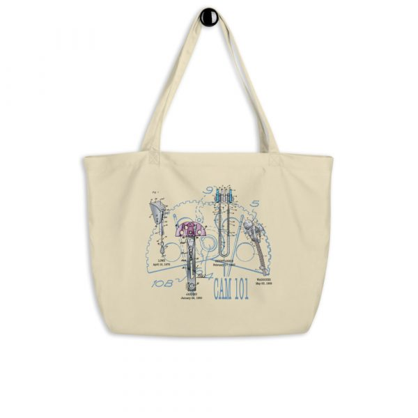 Cam 101 Tote Large Oyster hanging