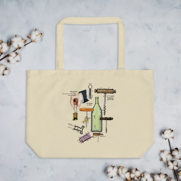 Corkscrew MS|Color Tote Large Oyster