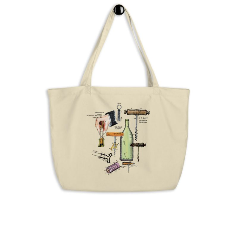 Corkscrew MS|Color Tote Large Oyster hanging