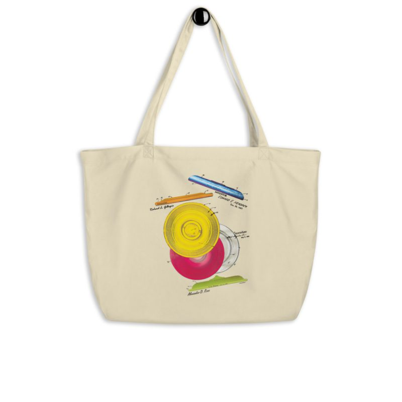 Frisbie MS Color Tote Large Oyster hanging