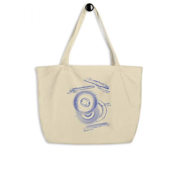 Frisbie MS|Lineart Tote Large Oyster hanging