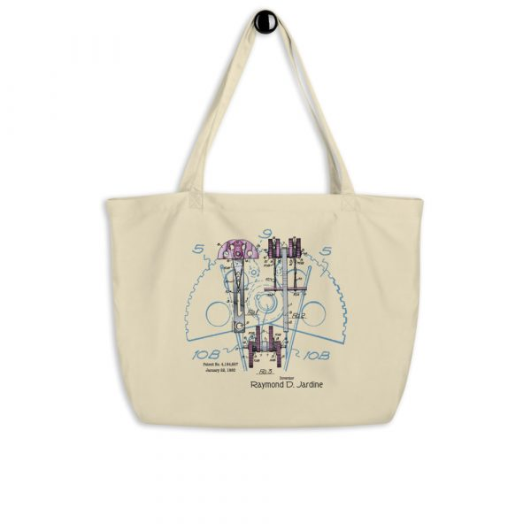 Jardine Cam Patent Tote Large Oyster hanging