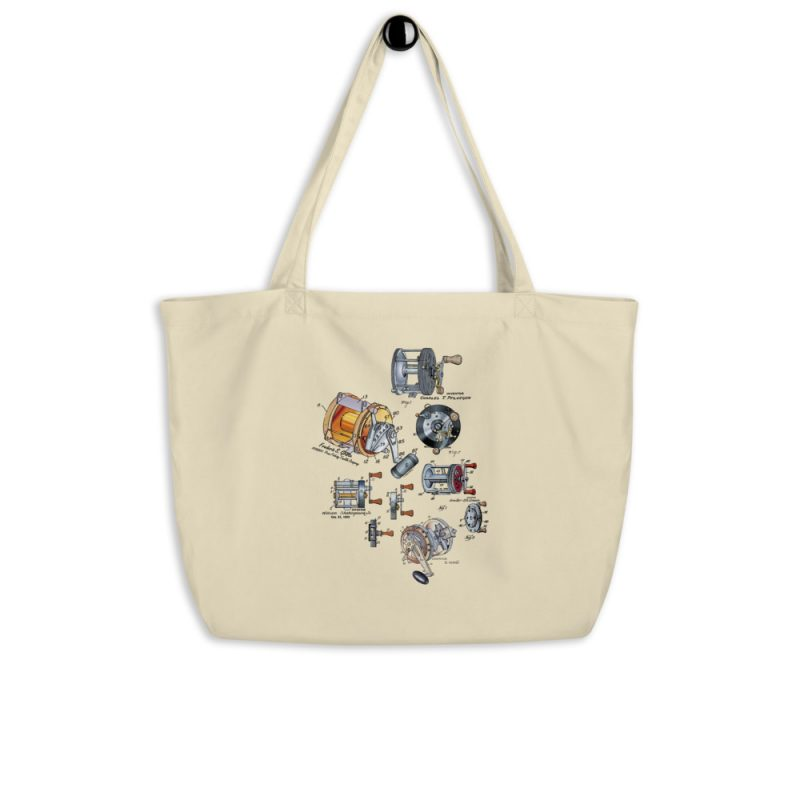 Reels MS|Color Tote Large Oyster hanging
