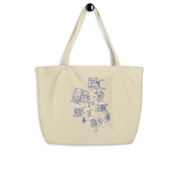 Reels MS|Lineart Tote Large Oyster hanging