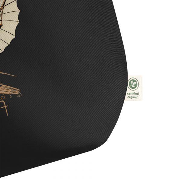 da Vinci Flight Tote—Large Black detail