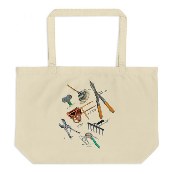 Garden Tools MS|Color Tote Large Oyster
