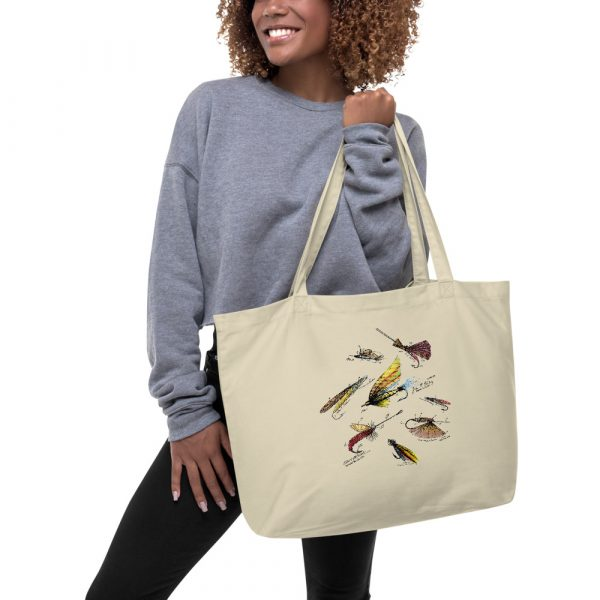Fly Fishing Flies MS|Color Patents Tote Large Oyster in action