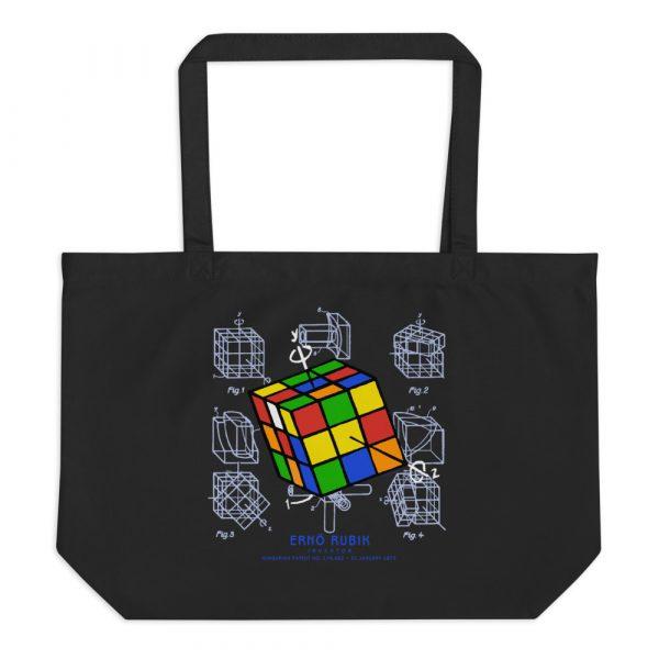 Magic Cube Tote Large Black