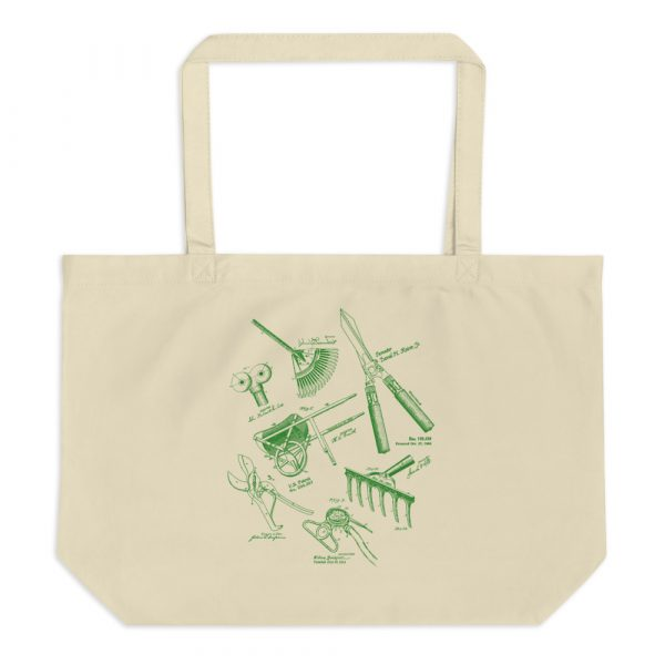 Garden Tools MS|Lineart Tote Large Oyster