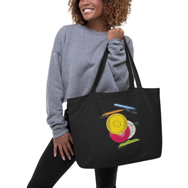 Frisbie MS Color Tote Large in action
