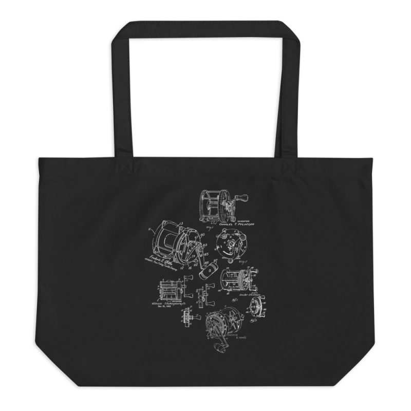 Reels MS|Lineart Tote Large Black