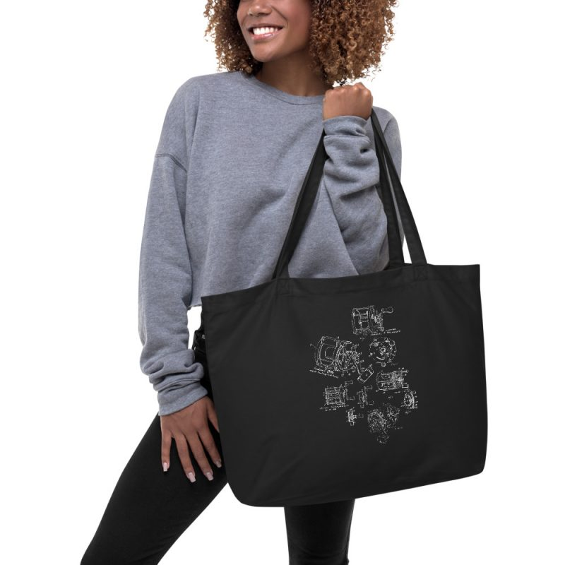 Reels MS|Lineart Tote Large in action