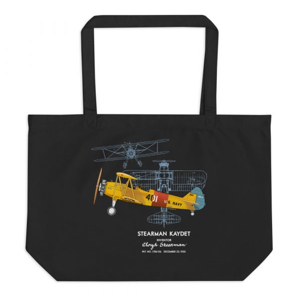 Stearman Kaydet Tote Large Black