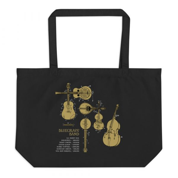 Bluegrass Band Patents Tote—Large Black